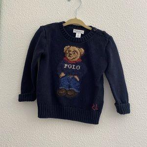 Ralph Lauren polo bear knit sweater